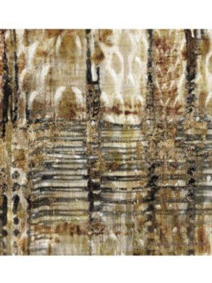 Thirsty Stone Coaster - Gold Snake Skin