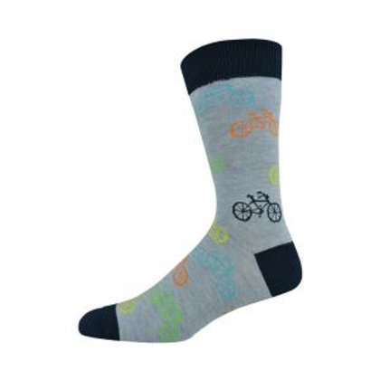 Mens Cycling Bamboo Socks 7-11