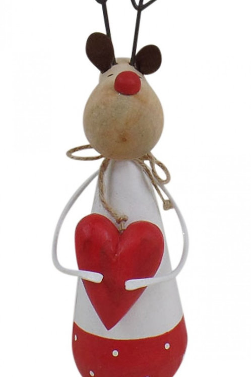 Reindeer with Heart