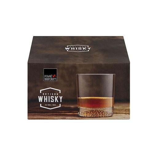 Set of 4 Artisan Whisky Glasses