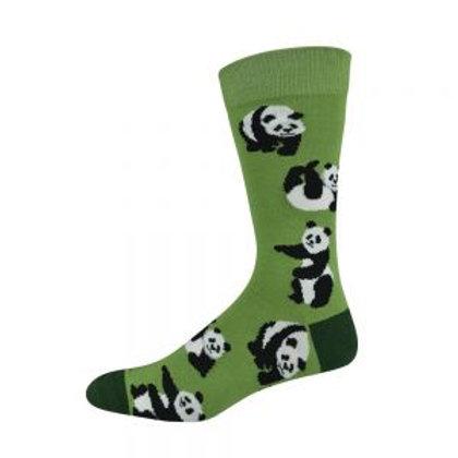 Ladies Panda Bamboo Socks 2-8
