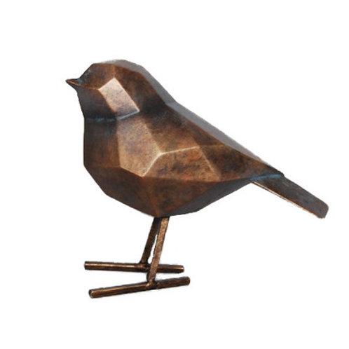 Bronze Geometric Bird