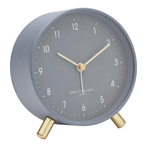 Noah Silent Alarm Clock - Charcoal