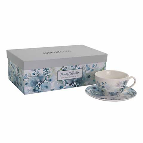 Pansy Tea Cup Set 2