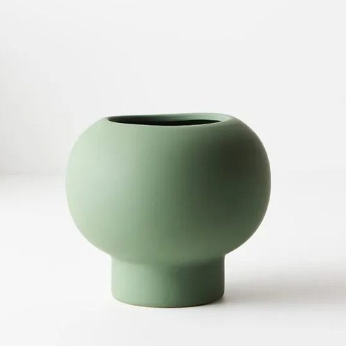 Lucena Pot 12.5cmx14.5cm - Mint Green