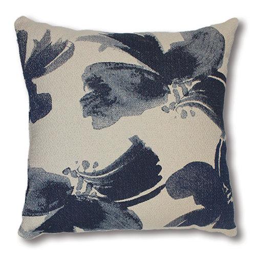 CLEARANCE Gardenia Blue Cushion