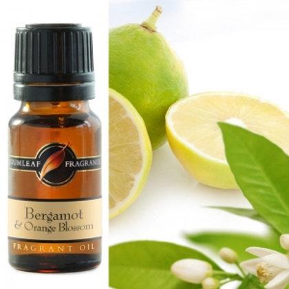 Fragrant Oil - Bergamot + Orange Blossom