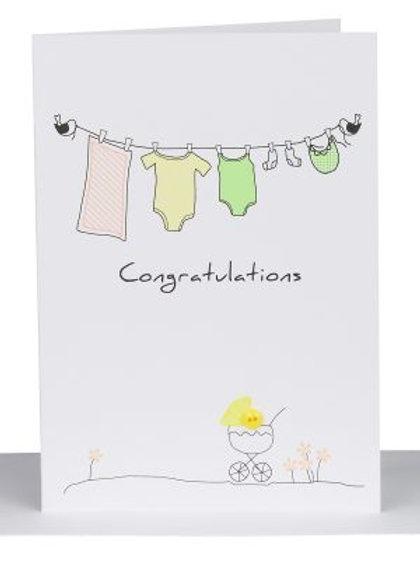 Baby Congratulations Card