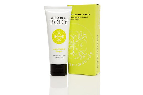 Aromabotanical Hand Cream 100ml - Lemongrass & Ginger