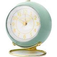 Elizabeth Silent Alarm Clock - Sage