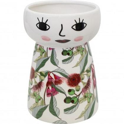 Doll Vase Large - Gum Flower