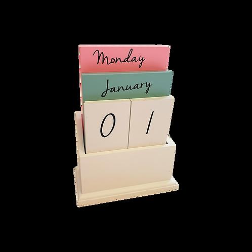 Pastel Desk Calendar