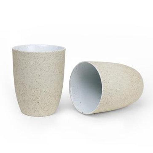 Robert Gordon Granite Latte Cup 2 Pk - White