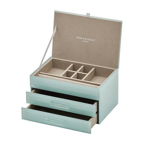 Gabrielle Jewellery Box Medium - Mint