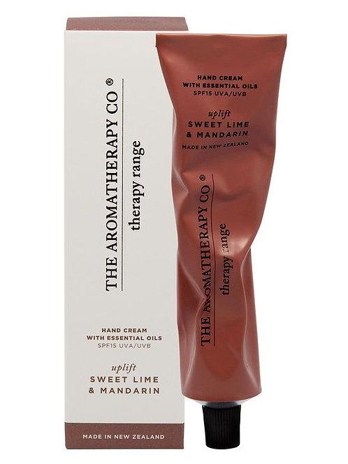 Aromatherapy Co Hand Cream - Sweet Lime & Mandarin