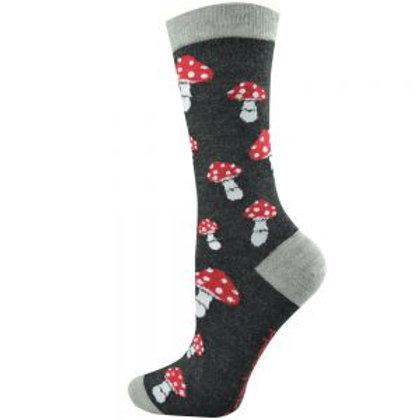 Mens Toadstool Bamboo Socks 7-11