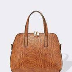 Candice Bag - Croc Cognac