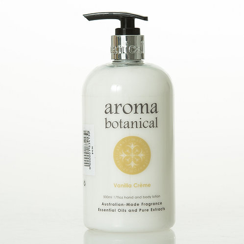 CLEARANCE Aromabotanical Hand & Body Lotion 500ml - Vanilla Creme