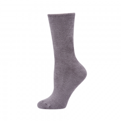 Bamboo Bed Socks - Grey