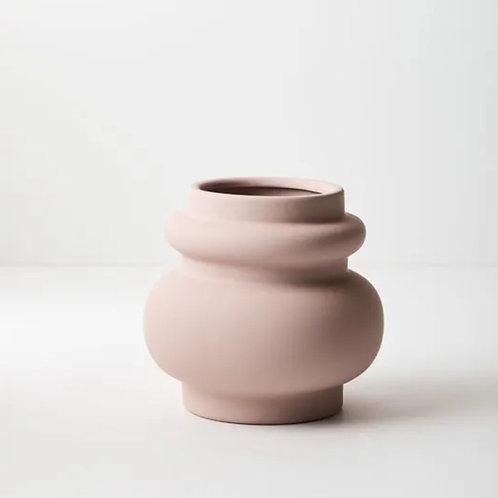 Lucena Pot 15cmx16cm - Light Pink