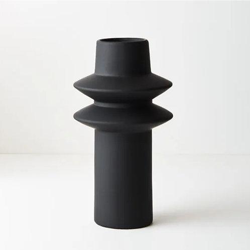 Lucena Vase 21.8cmx12.5cm - Black