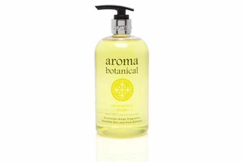 Aromabotancial Hand Wash 500ml - Lemongrass & Ginger