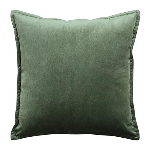 Mira Velvet Olive Cushion