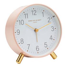 Maisie Silent Alarm Clock - Blush