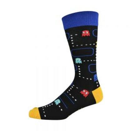 Mens Pacman Bamboo Socks 7-11