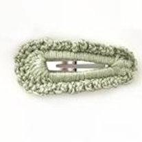 Crochet Clip Pk 2 - Sage Green