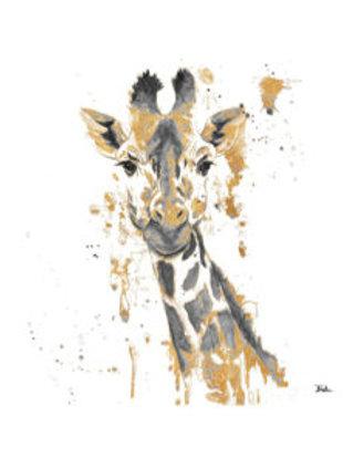 Thirsty Stone Coaster - Water Giraffe