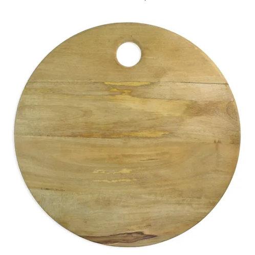 Mango Wood Round Board 50cm