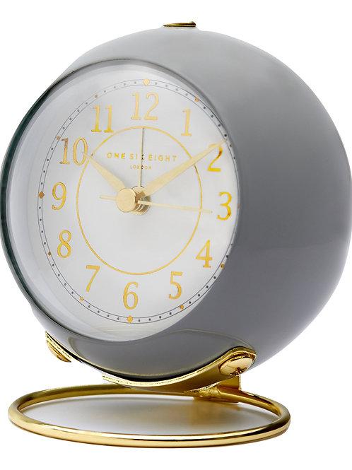 Elizabeth Silent Alarm Clock - Grey