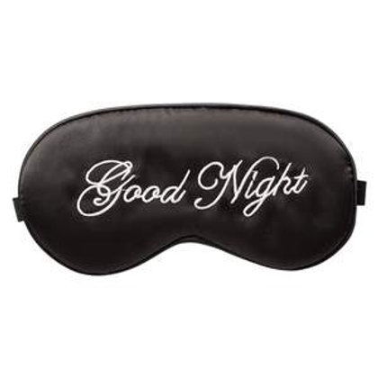 Luxury Satin Eye Mask - Goodnight
