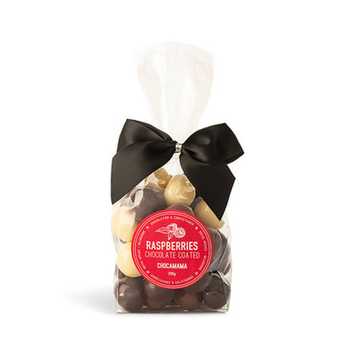 Medium Ribbon Bags - Mixed Raspberries