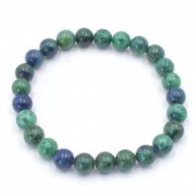 Crystal Bracelet - Azurite Malachite