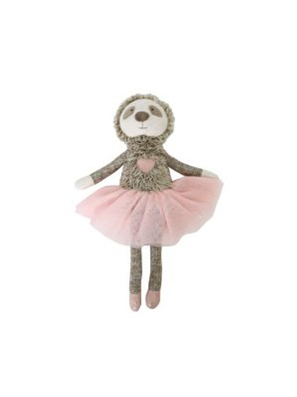 Furry Little Friends Sloth - Pink