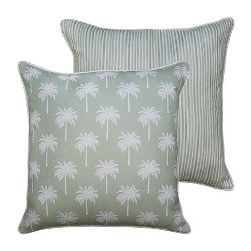 Tropic Light Green Cushion