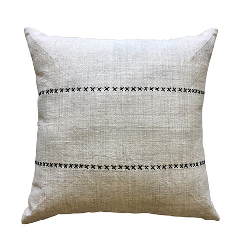 CLEARANCE Cross Stitch Natural Cushion