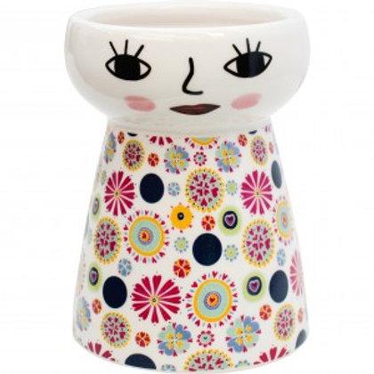 Doll Vase Small - Pinwheel