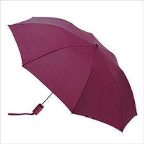Large Foldable Umbrella - Burgundy