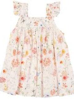 Toshi Baby Dress Secret Garden - Blush