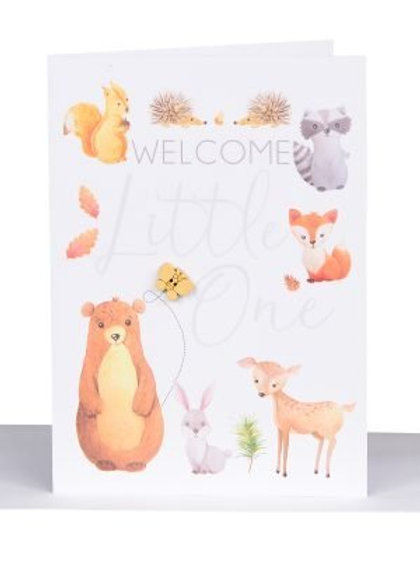 Baby Welcome Card