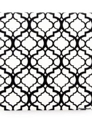Thirsty Stone Trivet - Black Lattice