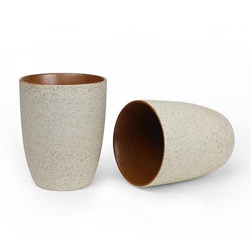 Robert Gordon Granite Latte Cup 2 Pk - Rust