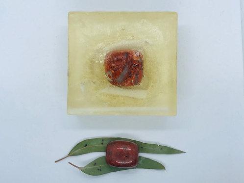 Crystal Soap - Red Jasper