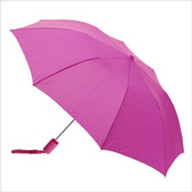 Large Foldable Umbrella - Pink