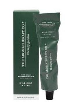 Aromatherapy Co Garden Hand Cream - Wilt Mint & Lime