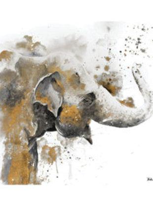 Thirsty Stone Coaster - Water Elephant