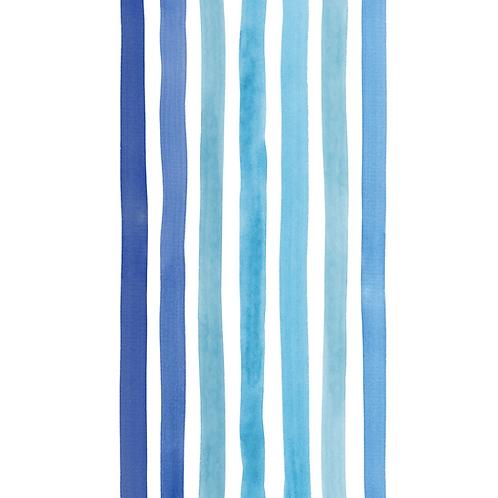 Extra Tall Sustainable Beach Towel - Bondi Blue